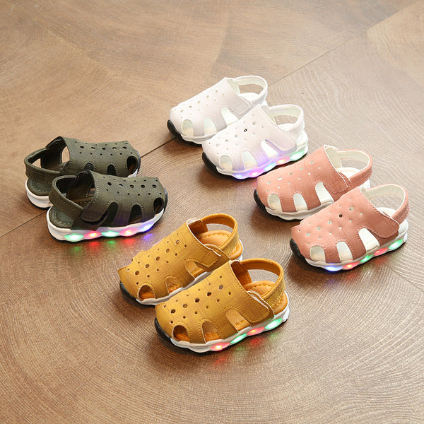 Suede LED Sandals