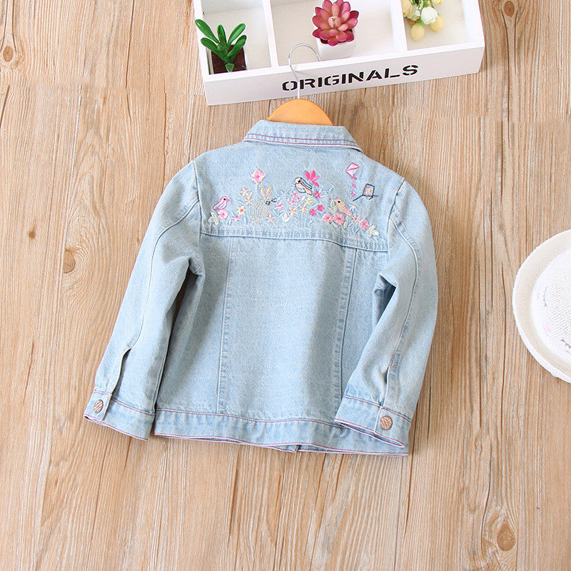 Embroidered Denim Jacket