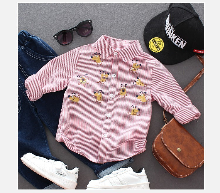 Bee Printed Shirt