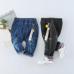 Long Pocket Denim
