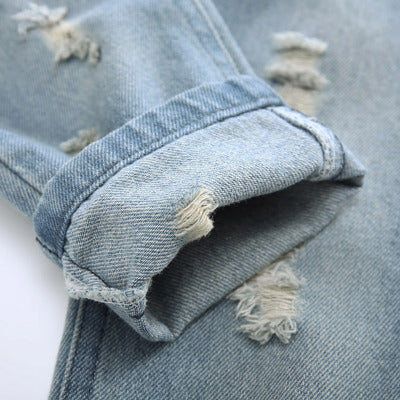 Rugged Light Blue Denim