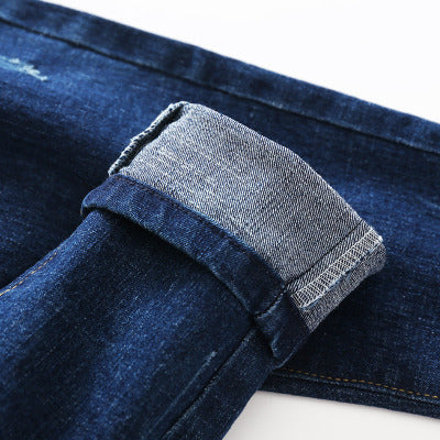 Plain Blue Denim