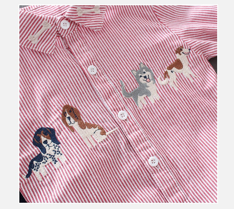 Striped Dogs Shirt