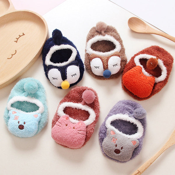 Animal Design Comfy Slipper Shoes