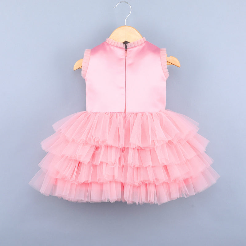 Flying Butterfly Pink Dress