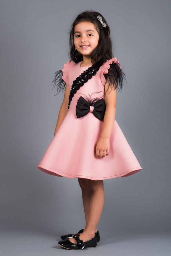 Zenia Pink Neo Dress