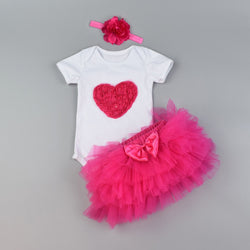 Tutu Dresses With Shapes Made And Headband