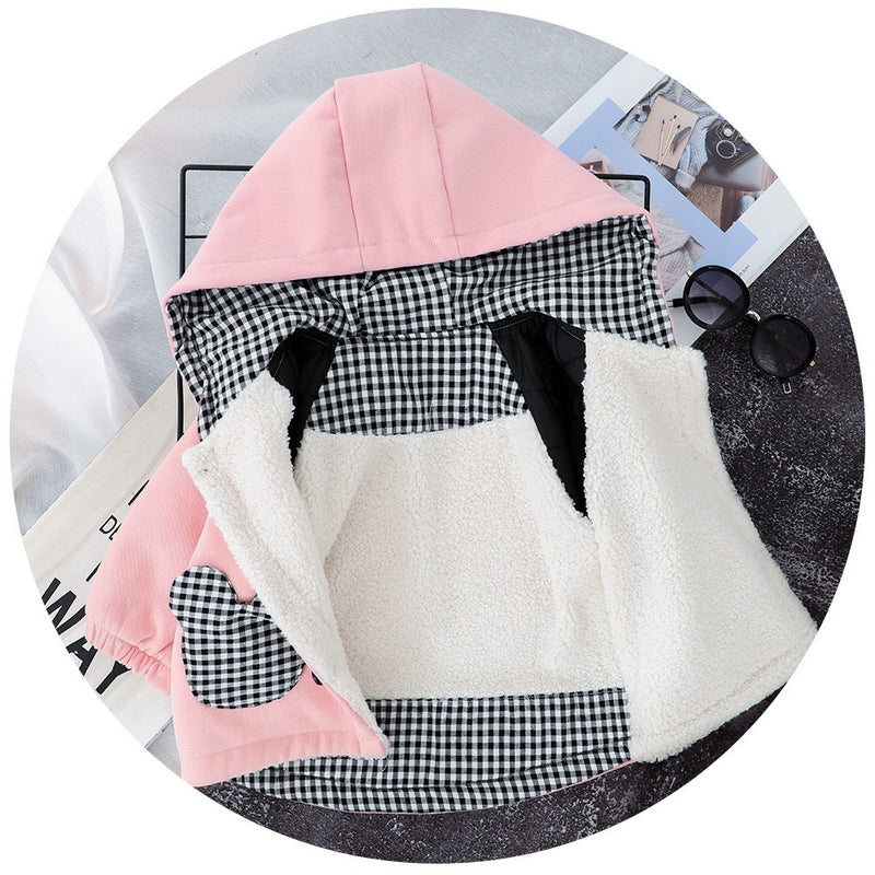 Mickey Mouse Pocket Hooded Winter Jacket