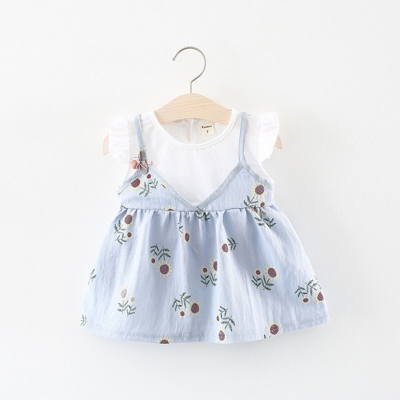Sun Flower Summer Dress