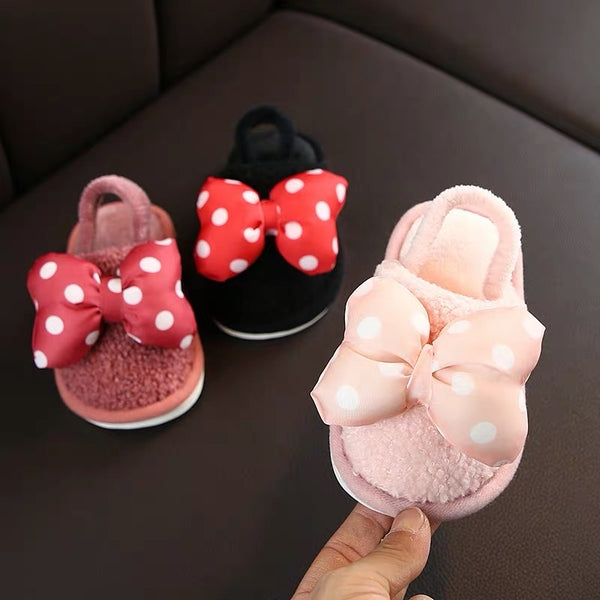 Minnie Bow Winter Sandals