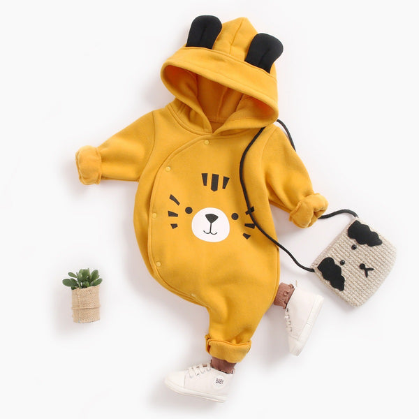 Tiger Made Hooded Winter Jumpsuit