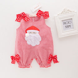 Plaided Santa Outfit