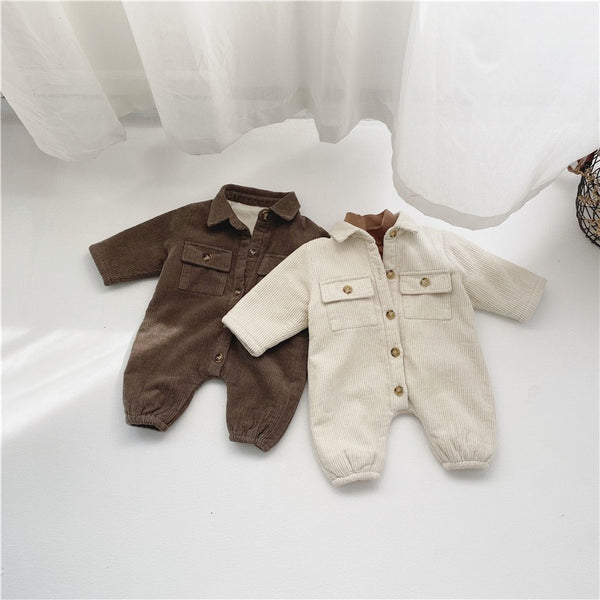 Corduroy Winter Jumpsuit