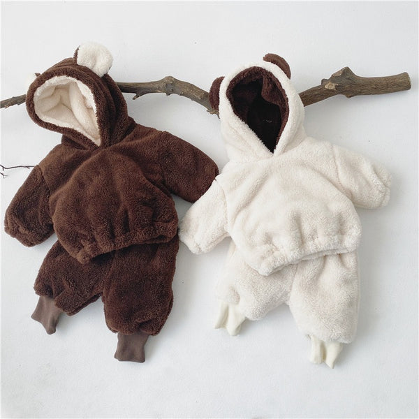 Fleece Hooded Winter Set