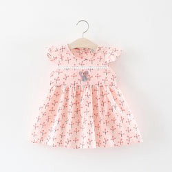 Flora Printed Dress for Baby Girls