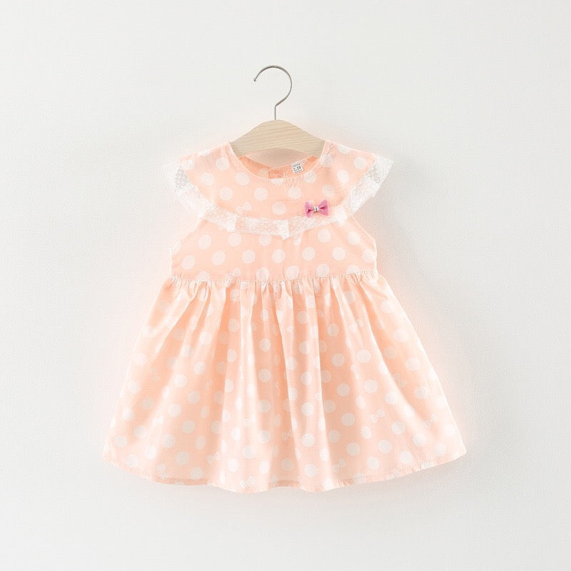 Polka Dot Peter Pan Collar Dress