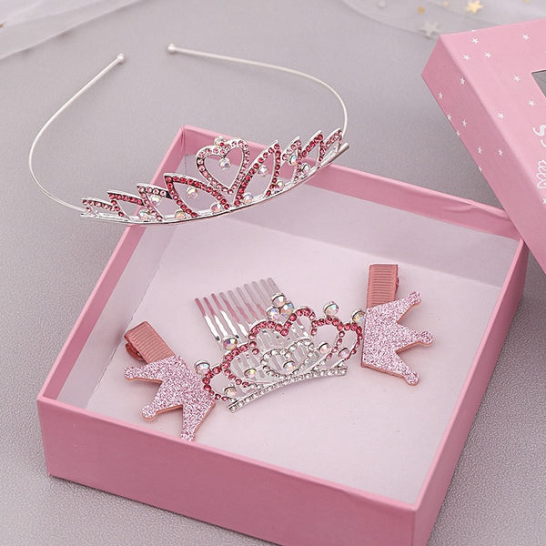 Box of hair accessories