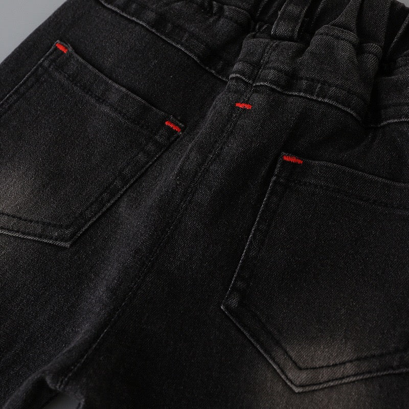 Black Monkey Wash Denim