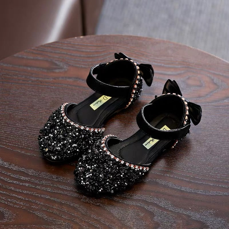 Crystal Studded Bow Bellies
