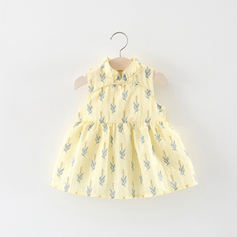 Leaf Summer Dress