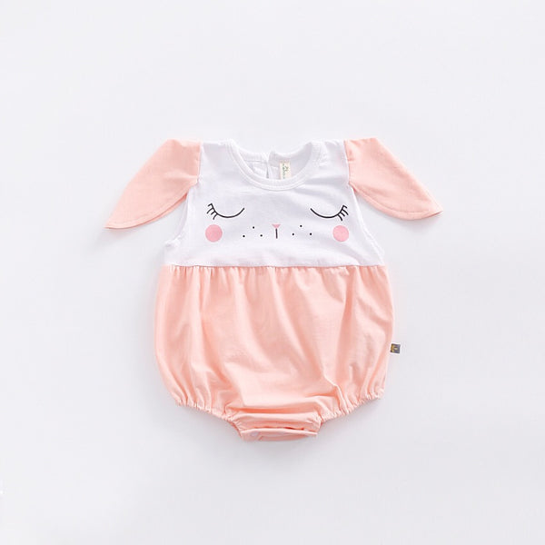 Cute Cat Eyes Romper