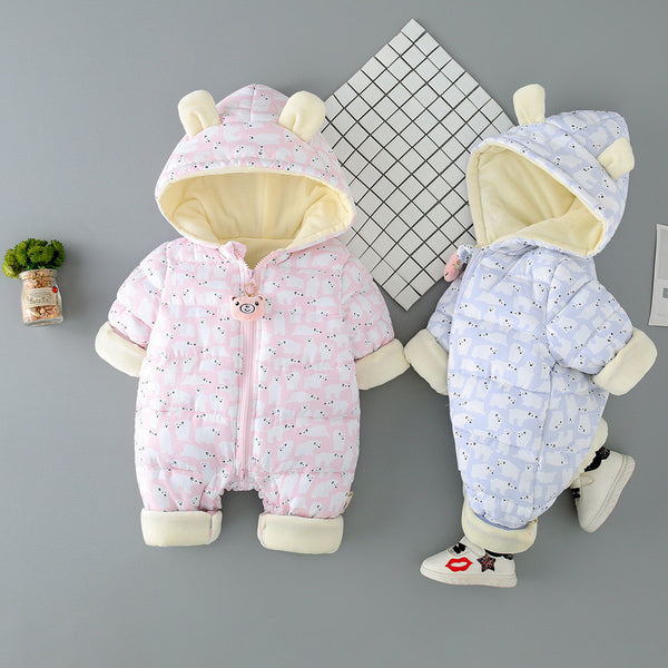 Polar Bear Winter Jumpsuits