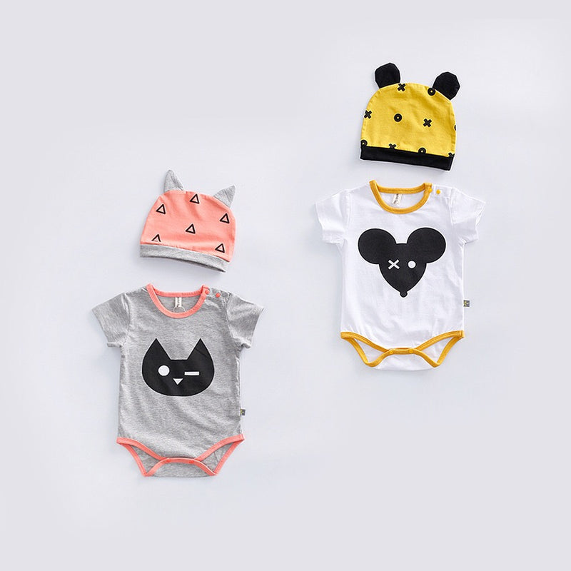 Cat Minnie Romper