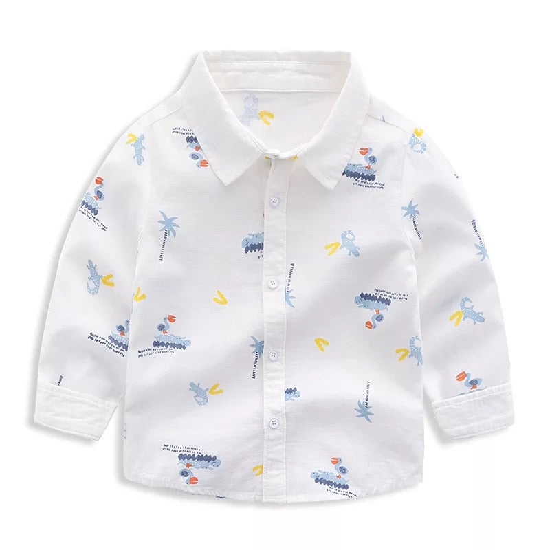 Crocodile Printed Shirt