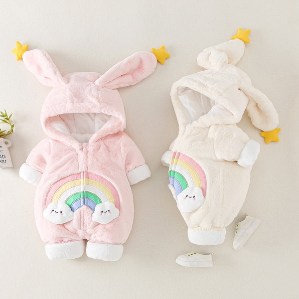 Rainbow Winter Jumpsuits