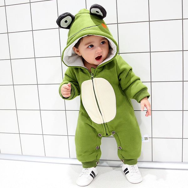 Frog Made Hooded Winter Jumpsuit