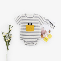 Cat Front Pocket Onesies