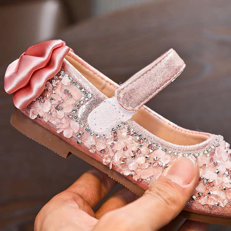 Crystal Stone Studded Bow Bellies