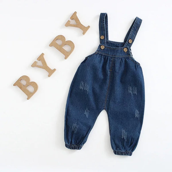 Denim Ballon Dungaree