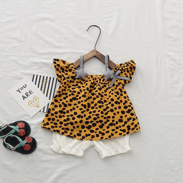 Leopard Printed Set