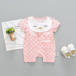 Polka Dot Cat Summer Bodysuit