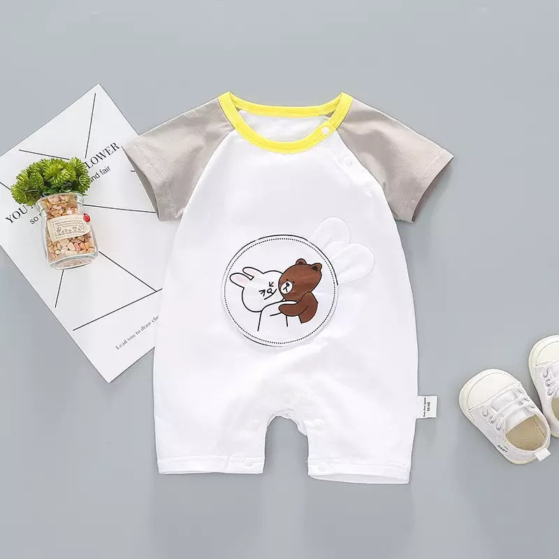 Cute Bear Summer Bodysuit