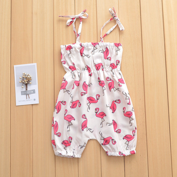 Flamingo Printed Jumpsuit