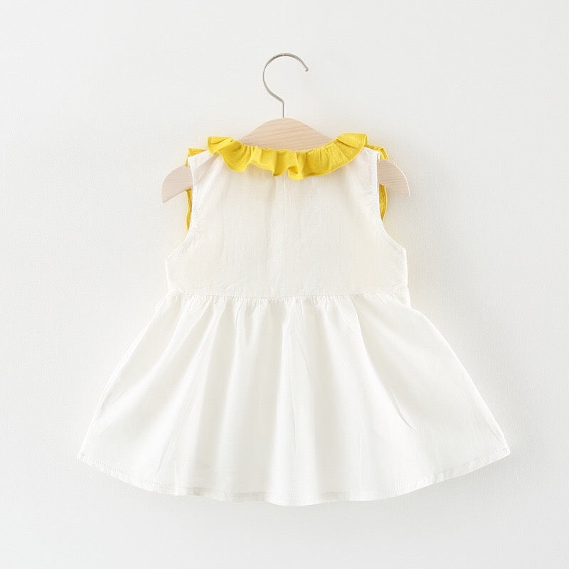 Flower Doll Collar Sleeveless Summer Dress