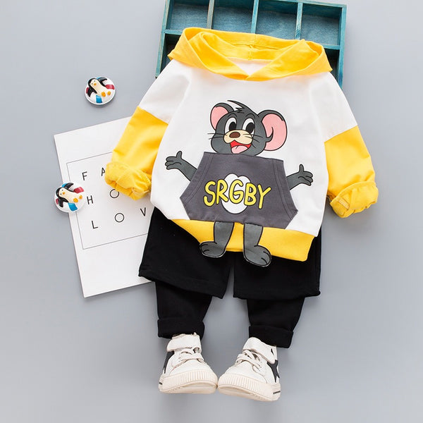 Tom And Jerry Sweatshirt And Joggers Set