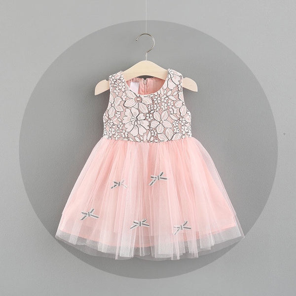 Flower Made Summer Party Dress