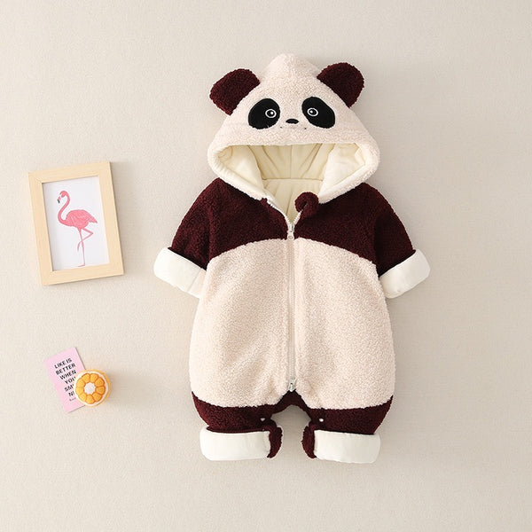 Panda Winter Jumpsuits