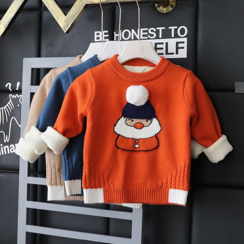 Santa Clause Baby Sweater