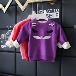 Face Baby Sweater