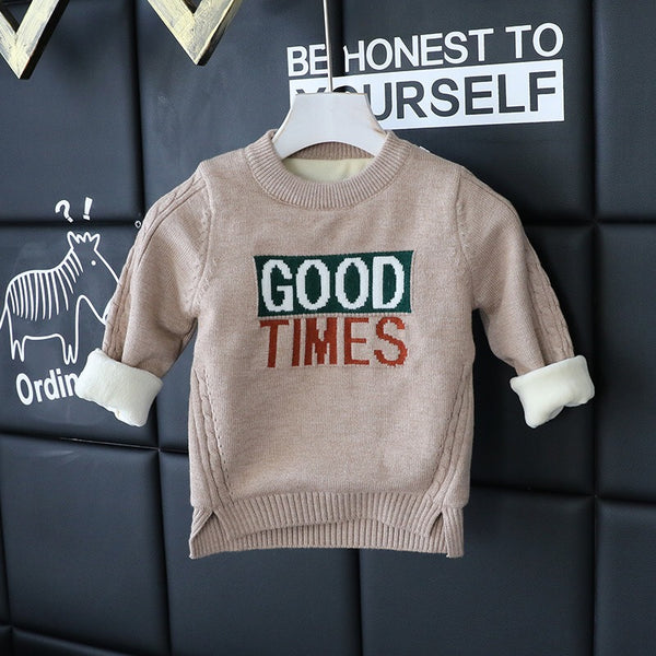 Good Times Baby Sweater