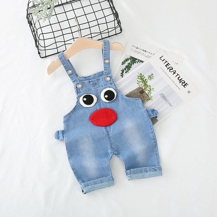Character Made Denim Dungaree