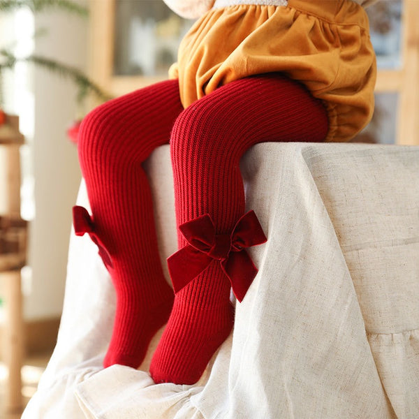 Winter Bow Stockings