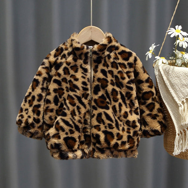 Leopard Winter Jacket
