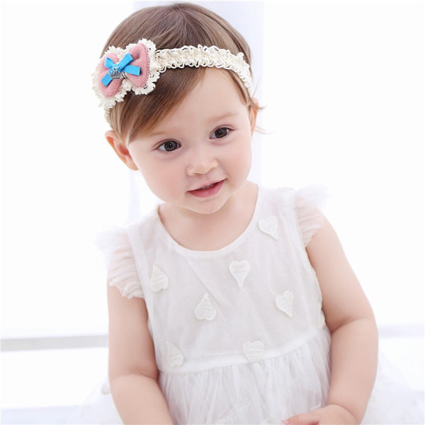 Bow Lace Headband