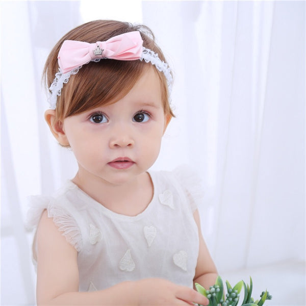Pink Bowknot Princess Headband sale