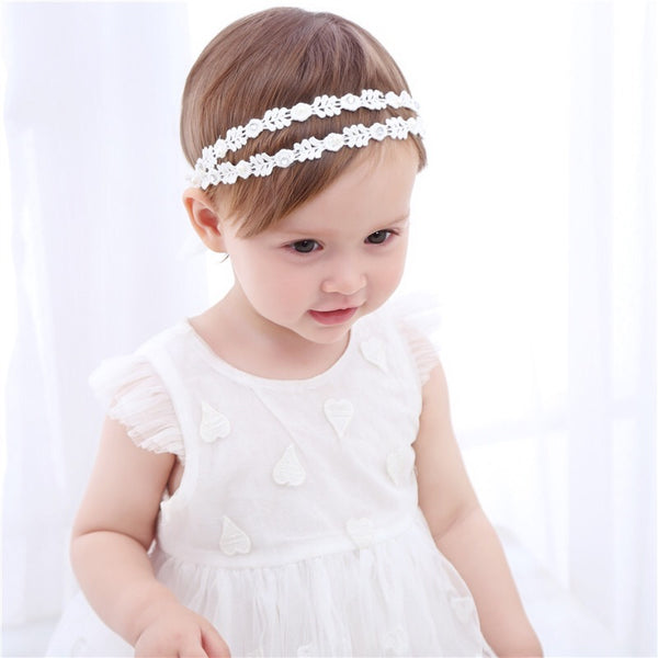 White Princess Headband
